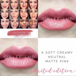 SeneGence Makeup - NEW! Girlfriend LipSense! 👄